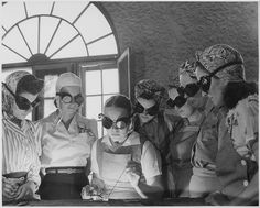 Secretaries, housewives, waitresses, women from all over central Florida are getting into vocational schools to learn war work. - 1942