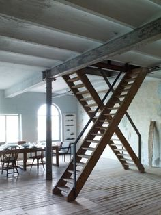 Axel Vervoordt Kanaal. Treppen Stairs Escaleras by www.smg-treppen.de #smgtreppen Follow us on Facebook https://www.facebook.com/pages/SMG-Treppen/418970301485994