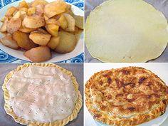 Pasos para hacer la empanada de manzana