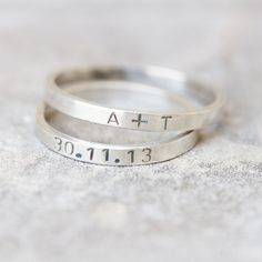 This sterling silver ring is a great personalized piece for a person with a special taste for minimalistic jewelry. This item is good both for a man or a woman. It looks great alone or stacked. It is