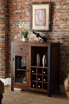 Wine cabinet.