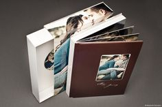 The NeoClassic book is our contemporary twist on the classic flush mount album. #photographyalbums #asukabook #weddingalbums