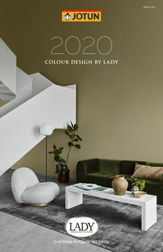 Colour Collection 2020 by Jotun Paints Arabia - Issuu Home Wall Colour, Wall Paint Colors, Paint Colors For Living Room, Paint Colors For Home, House Colors, Green Exterior Paints, Interior Exterior, Interior Design, Jotun Paint