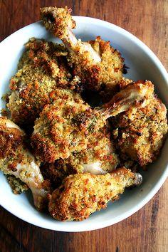 in-my-mouth:  Ina Garten's Mustard-Roasted Chicken