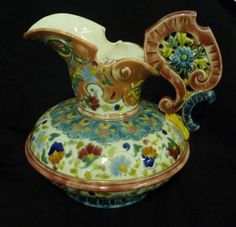 Zsolnay Pecs Budapest jug with… - Fine Art, Antiques, Collectables and Jewellery - Lawsons - Antiques Reporter