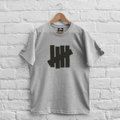 Undefeated Shemagh 5 Strike T-Shirt Grey Heather