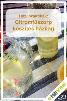 A citromfűszörp nem csak finom, de egészséges is, és ráadásul az elkészítése is egyszerű.  Érdemes a citromfűleveleket előtte napokig vízben áztatni, és azután főzni.  Nézzük is a hozzávalókat: - 1 csokornyi citromfű levele - 1 l víz - 1 db citrom - 25 g citromsav Cukor, Soap, Personal Care, Drinks, Bottle, Drinking, Self Care, Beverages, Personal Hygiene