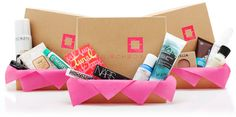Hand-picked beauty and lifestyle samples, delivered to your door for $10/month.  Love my subscription