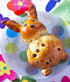 Rabbit with chocolate chips Cooking With Kids, Fun Cooking, No Bake Desserts, Cake Cookies, Baked Potato, Muffin, Sweets, Baking, Breakfast
