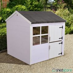 A wooden playhouse is a charming garden addition. A traditional wendy house? A two-storey playhouse? A tower playhouse with slide? Shedstore has it all. Kids Wooden Playhouse, Playhouse With Slide, Wendy House, Playhouses, Blueberry, Shed, Outdoor Structures, Decor, Berry