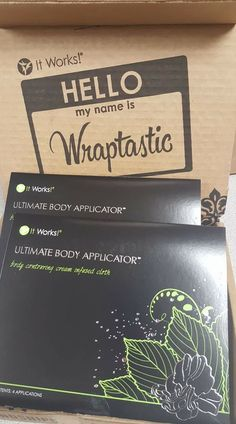 Ultimate Body Applicator, Amazing Greens, Crazy Wrap Thing, Cream Contour, Core, It Works, Told You So, Let It Be, Nailed It