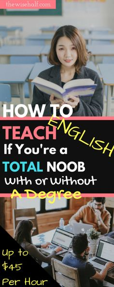 How to get started teaching English online. With or without a degree. - The wise half