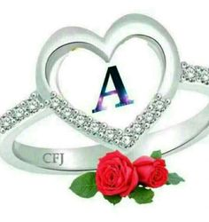 Alphabet Art, Love Images, Heart Ring, Rings, Jewelry, Jewels, Ring, Schmuck, Jewerly