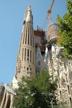La Sagrada Familia - Barcelone.