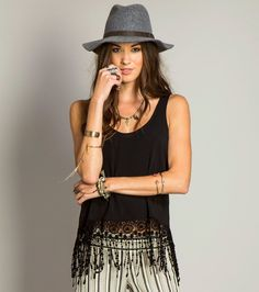 O'Neill Womens BENJI TOP. I'd really want to wear this top to the Hawaii Music Festival this summer!
