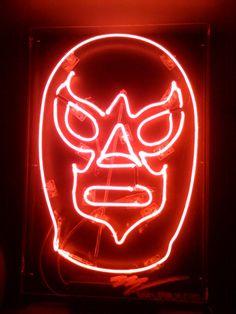 Neon light, Hágase la lucha, 2010. by Miguel Valverde