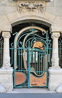Castel Béranger,  Paris 16e, Hector Guimard, 1895 - 1898