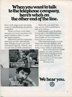 Amazon.com: 1973 BELL TELEPHONE AT&T Vintage Retro Original Ad: Everything Else