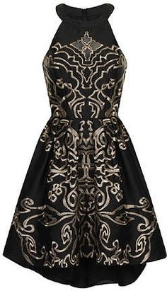 Womens black dress from Dorothy Perkins - £64.99 at ClothingByColour.com