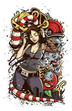 Cool Artworks by Dayne Henry Jr