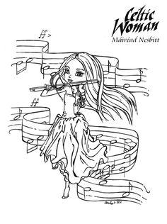 Celtic Woman - Mairead Nesbitt by *JadeDragonne on deviantART