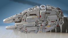 Millennium Falcon Flyby on Crait Millennium Falcon, Lego, Sci Fi, Movies, Science Fiction, Films, Cinema, Movie, Film