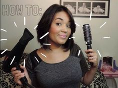 How to: Blow-Dry Short Hair with Volume! - http://47beauty.com/hair-tutorials/how-to-blow-dry-short-hair-with-volume/ https://www.avon.com/category/bath-body/hair-care?repid=16581277 Shop Hair Care Products  OPEN! … please (: Hey! Did anyone notice I had 1 earring on the whole time hahaha! Anywho! In this video I don't use any products in my hair I never do when I am just blow-drying it but you can use any styling products you would like. I find it best when I use