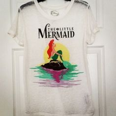 The Little Mermaid Tee Disney's The Little Mermaid Tee. Worn once. Perfect condition Disney Tops Tees - Short Sleeve