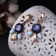 Just Pretty Things SHADES OF BLUE EARRINGS | eBay