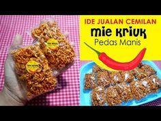 Resep Mie Kriuk Pedas Manis Ide Jualan Camilan No Vetsin Youtube Resep Ide Makanan Makanan