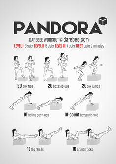 Pandora Workout