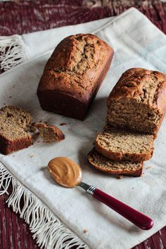 Peanut Butter Banana Bread, from-- you guessed it-- The Pastry Affair