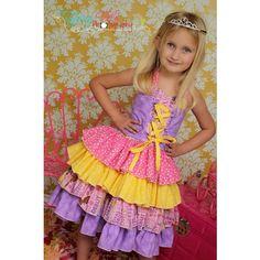 Primrose's Ruffled Corset Princess Dress 1