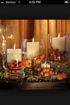 pinterest diy autumn weddings | DIY decorations for fall wedding