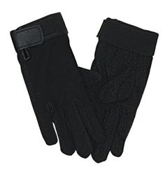 Perri's Child Cotton Gloves, Black by Perri's. $4.00. Velcro closure at wrist. Pimple Palm. Great for warm weather riding. Cotton Pimple Palm Gloves. Great Value!