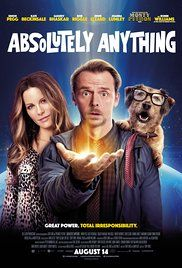 Absolutely Anything Poster 2015 Robin Williams voiced Dennis the Dog