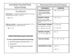 math worksheet : dividing polynomials with long division worksheets  math aids com  : Polynomial Long Division Worksheets