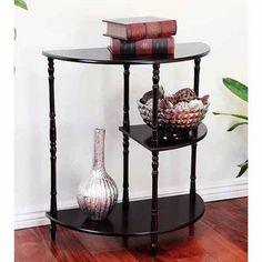 Home Craft Multi-Tiered End Table, Multiple Colors, Brown