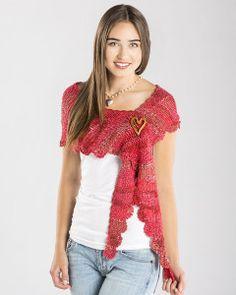 Sizzling Scalloped Shawlette Free Crochet Pattern : Maggie's Crochet Blog