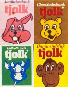 Tjolk is lekker, overal en altijd! My Childhood Memories, Childhood Toys, Sweet Memories, Vintage Gifts, Retro Vintage, Elephant Food, Good Old Times, When I Grow Up, Ol Days