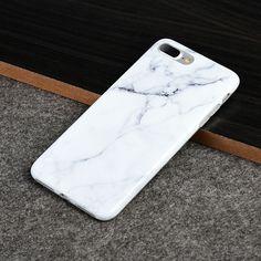 DW Premium TRNDY Apple iPhone 7 Plus Case - White Marble - MyPhoneCase.com - 4