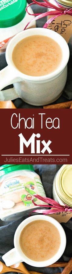 Chai Tea Mix ~ Easy Directions on How To Make Homemade Chai Tea Mix! Perfect for When You Want a Quick Cup of Chai Tea at Home! #SweetSwaps #ad @splenda #SplendaSweeties