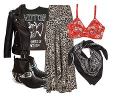 A fashion look from May 2016 featuring leather biker jackets, boho skirts and strappy bras. Browse and shop related looks. Gypsy, Grunge, Shoe Bag, Polyvore, Stuff To Buy, Shopping, Collection, Design, Women