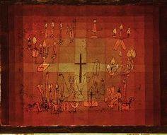 Paul Klee - Haeusliches Requiem, 1923