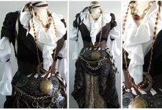 Jack Sparrow Costume from Pirates of the Caribbean: Curse of the Black Pearl- Worn by Johnny Depp. Description from pinterest.com. I searched for this on bing.com/images