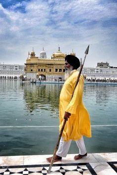 The temple guard.