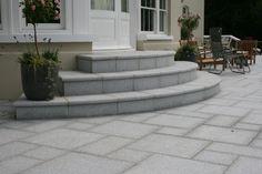 Stone Steps, Sandstone Steps, Limestone Steps, Granite Steps  Not sure why I like this