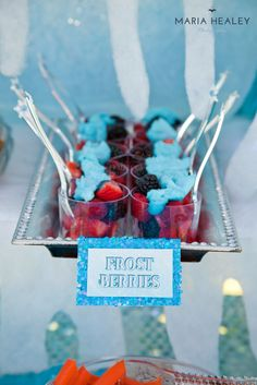 Made by a Princess Parties in Style: {Real Party} Frozen Birthday Party Olaf Birthday Party, Frozen Party Food, Disney Frozen Party, Frozen Themed Birthday Party, Disney Frozen Birthday, 3rd Birthday, Olaf Party, Birthday Ideas, Birthday Parties