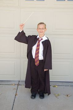 Jengerbread Creations: Easy Harry Potter Costume