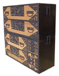 Antique Anese Tansu Architecture Old Craftsman Dresser Top